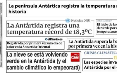 Las aguas de la península Antártica seguirán sin protección durante al menos un año más