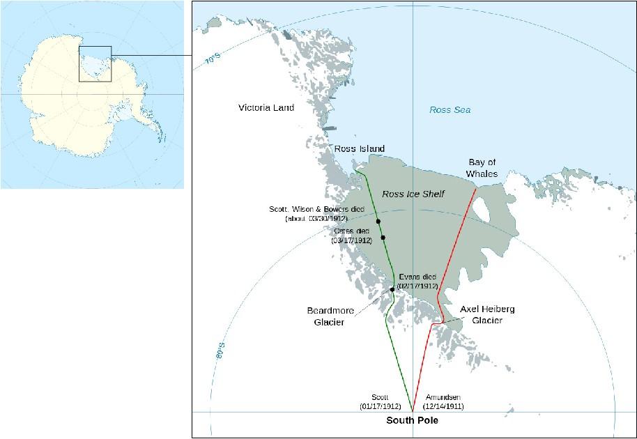 Supervivencia en el Polo Sur
