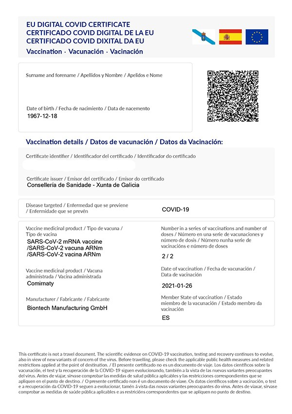 certificado-covid-UE-xunta